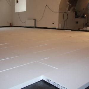 Styrodurplatten zur Isolierung von Bodenplatten