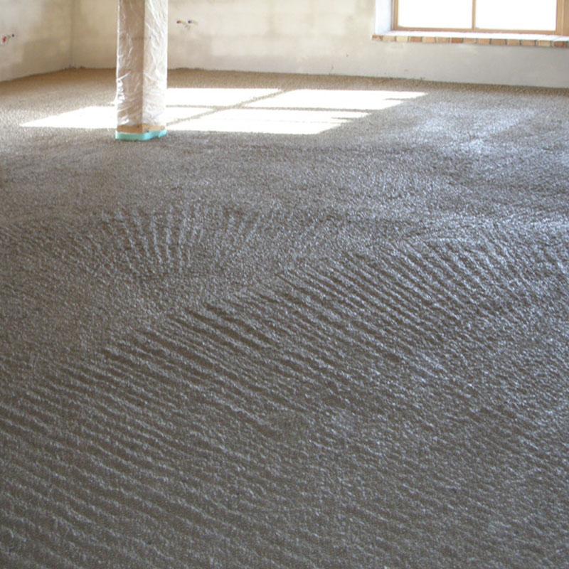 Einfache und schnelle EPS-Flüssigisolierung von erdberührten Bodenplatten, effiziente Wärmedämmung