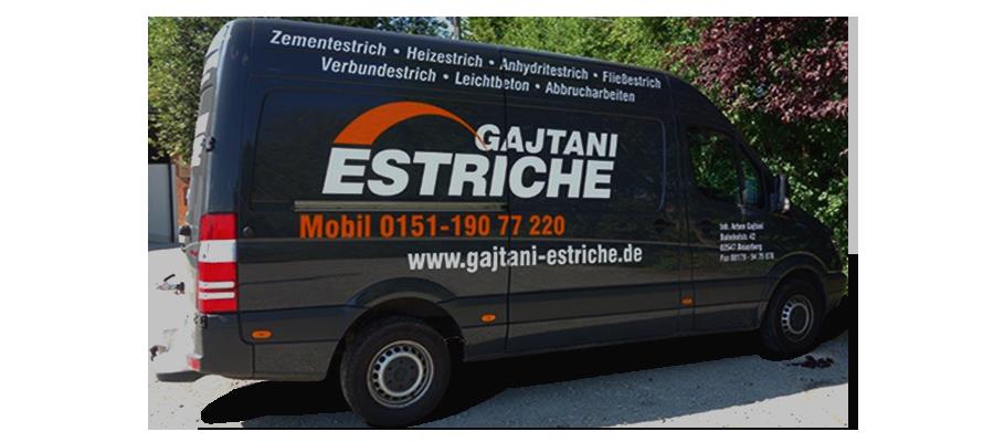Gajtani Estriche - Fuhrpark