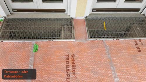 Terrassen- oder Balkonböden